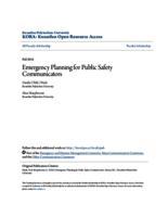 Emergency Planning for Public Safety Communicators