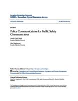 Police Communications for Public Safety Communicators