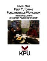 Level One Peer Tutoring Fundamentals Workbook