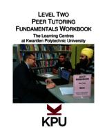 Level Two Peer Tutoring Fundamentals Workbook