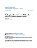 Teaching Outside the Textbook : a Multimedia Approach to Teaching Statistics Tutorials
