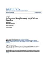 Self-perceived Strengths Among People Who are Homeless