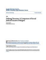 Defining Terrorism: A Comparison of Several Judicial-Executive Dialogues