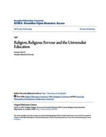Religion, Religious Fervour and the Universalist Education