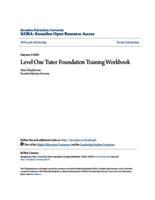 Level One Tutor Foundation Training Workbook
